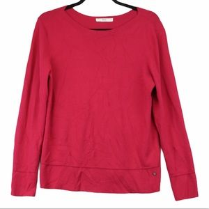 Brax Wool Pink Long sleeve sweater